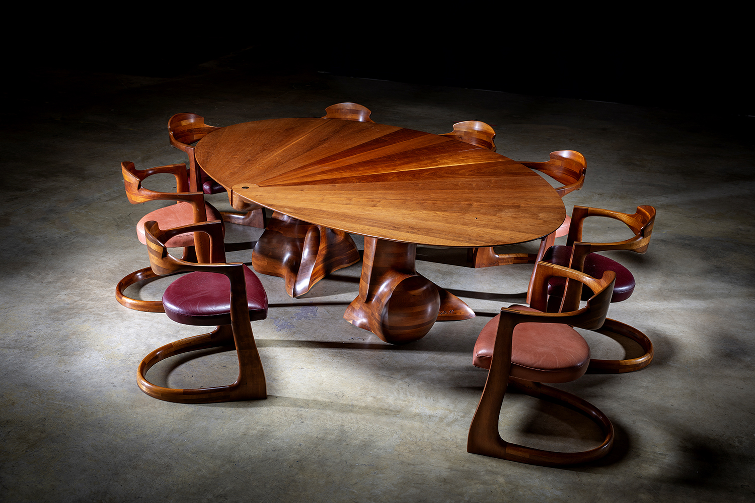 Dining Table and Chairs, 1980