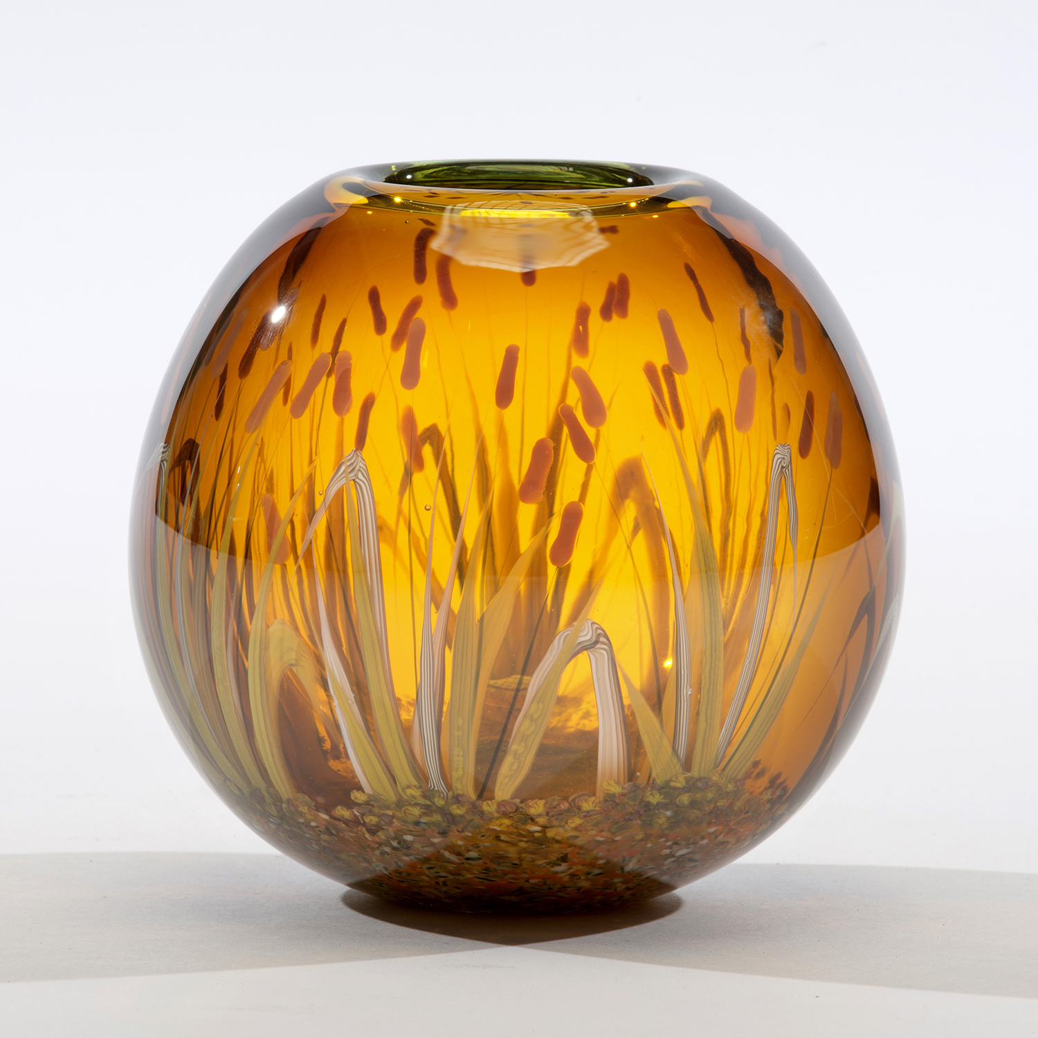 Mark Peiser, master glass artist represented by Wexler Gallery in Philadelphia, PA.