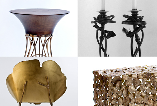 Paradox: Industrial Nature, group furniture exhibition at Wexler Gallery.