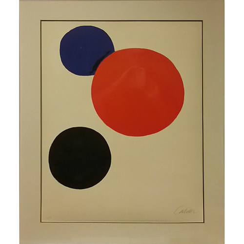 Lithograph on arches paper, signed and numbered in pencil 20 x 26 inches Ed. 33/75
