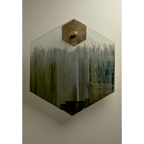 Gregory Nangle, mirror and furniture designer and contemporary artist represented by Wexler Gallery in