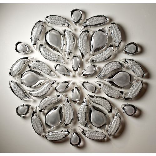 Joanna Manousis, contemporary glass artist and sculptor, represented by Wexler Gallery in Philadelphia, PA.