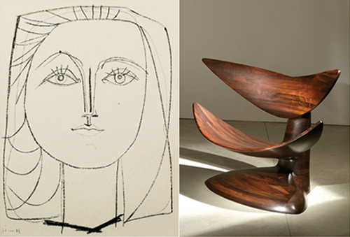 PICASSO CASTLE - The Abstract Forms of Pablo Picasso & Wendell Castle - Wexler Gallery
