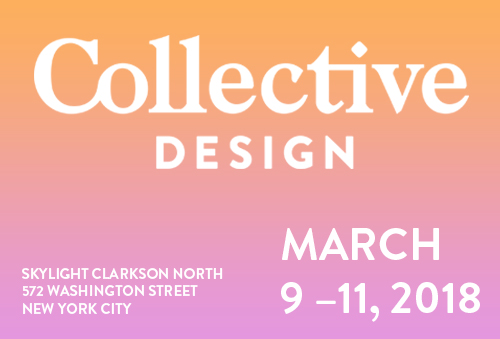 collective2018 1 - Collective Design Fair 2018 - Wexler Gallery