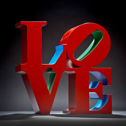 LOVE (Red/Blue/Green), 1966-1998