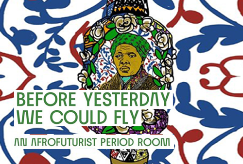 LugoMet 2021 - Before Yesterday We Could Fly: An Afrofuturist Period Room - Wexler Gallery